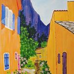 Peinture au pays de la cigale par liolo2010 -   provence Provence France