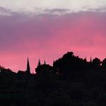 Coucher de soleil - Vaucluse par geoGraf -   Vaucluse Provence France