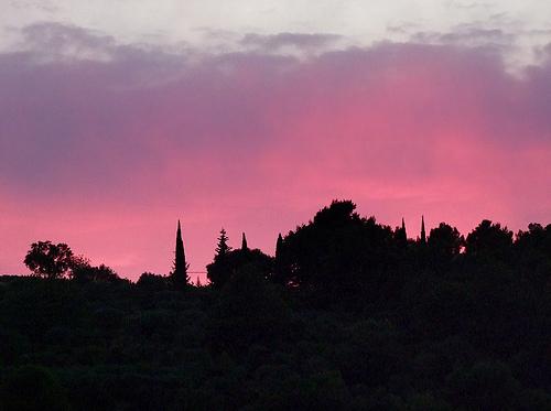 Coucher de soleil - Vaucluse par geoGraf