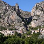 Vue de Moustiers par Locations Moustiers - Moustiers Ste. Marie 04360 Alpes-de-Haute-Provence Provence France