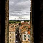 Vue depuis les arènes d'Arles par Patrick Car - Arles 13200 Bouches-du-Rhône Provence France