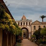 Ile Saint-Honorat ; abbaye et monastère par david.chataigner - Cannes 06400 Alpes-Maritimes Provence France