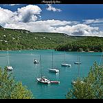 Lac de Ste Croix par DamDuSud - Bauduen 83630 Var Provence France