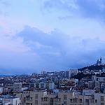 Notre Dame de la Garde domine et surveille Marseille par _Syla_ - Marseille 13000 Bouches-du-Rhône Provence France