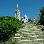 Notre Dame de la Garde - Montée Commandant René Valentin par larsen & co - Marseille 13000 Bouches-du-Rhône Provence France