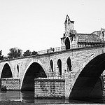 Saint Benezet Bridge by  - Avignon 84000 Vaucluse Provence France
