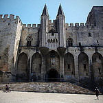 Palais des Papes par  - Avignon 84000 Vaucluse Provence France