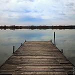 Ponton sur l'étang d'Entressen par cyrilgalline - Istres 13800 Bouches-du-Rhône Provence France