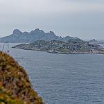 Ile de Jarre et ile Calseraigne vue depuis Callelongue by DB  Photography - Callelongue 13008 Bouches-du-Rhône Provence France