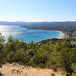 Saint cyr sur mer (VAR) - Du haut de la dune de sable by  - St. Cyr sur Mer 83270 Var Provence France