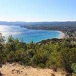 Saint cyr sur mer (VAR) - Du haut de la dune de sable par Vero7506 - St. Cyr sur Mer 83270 Var Provence France