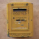 Postes : boite aux lettres by Christopher Swan - Saignon 84400 Vaucluse Provence France