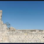 Fenetre sur ciel : ruines du château de Lacoste by  - Lacoste 84480 Vaucluse Provence France