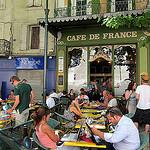 Terrassse du Café de France by __Olivier__ - L'Isle sur la Sorgue 84800 Vaucluse Provence France