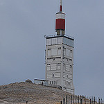 Sommet du ventoux : antenne TNT by  - Bdoin 84410 Vaucluse Provence France