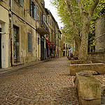 Dans les rues calmes d'Avignon by  - Avignon 84000 Vaucluse Provence France