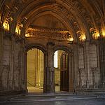 Palais des Papes entrée de la Grande audience by  - Avignon 84000 Vaucluse Provence France