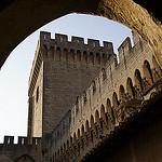 Fortification du Palais des Papes by Karschti - Avignon 84000 Vaucluse Provence France
