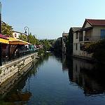 Canal de l'Isle sur la Sorgue by lepustimidus - L'Isle sur la Sorgue 84800 Vaucluse Provence France