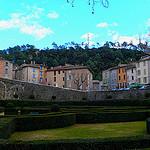Entrecasteaux : jardin à la Française par  - Entrecasteaux 83570 Var Provence France
