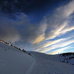 Le Sommet du Mont Ventoux enneigé par CharlesMarlow - Bédoin 84410 Vaucluse Provence France