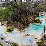 Panoramique Rivière de la Castelette  par guitou2mars - Nans les Pins 83860 Var Provence France