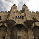 Entrance of the Papal Palace by maximus shoots - Avignon 84000 Vaucluse Provence France
