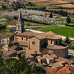 Eglise de Bonnieux et son clocher par  - Bonnieux 84480 Vaucluse Provence France
