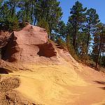 Le sentier des ocres, dégrafé de jaune orange by lepustimidus - Roussillon 84220 Vaucluse Provence France