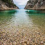Calanque d'En-vau... la plage de caillou par guitou2mars - Cassis 13260 Bouches-du-Rhône Provence France