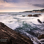 vagues avant l'impact by  - Bandol 83150 Var Provence France