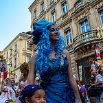Festival d'Avignon : les acteurs sont dans la rue par alalchan - Avignon 84000 Vaucluse Provence France