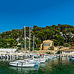 Panoramique du port et de la baie par alalchan - Ensuès la Redonne 13820 Bouches-du-Rhône Provence France