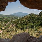 Vaison-la-Romaine : vue vers le ventoux par Joël Galeran - Vaison la Romaine 84110 Vaucluse Provence France