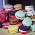 Colourful Macarons - Lourmarin, France by Ann McLeod Images - Lourmarin 84160 Vaucluse Provence France