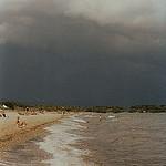 La plage à Hyères  par  - Hyères 83400 Var Provence France