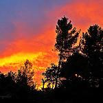 Quand le ciel de la Provence s'enflamme! par  - Aix-en-Provence 13100 Bouches-du-Rhône Provence France